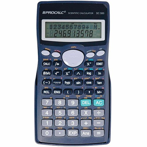 Calculadora Procalc SC 500 401 Funções e Cálculo Integral
