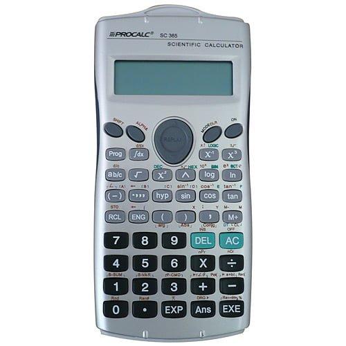 Calculadora Procalc SC 365 279 Funções 10+2 dígitos