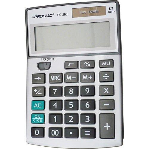 Procalc De Mesa 12 Dígitos