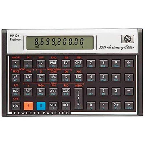 Calculadora HP12C Platinum Preço