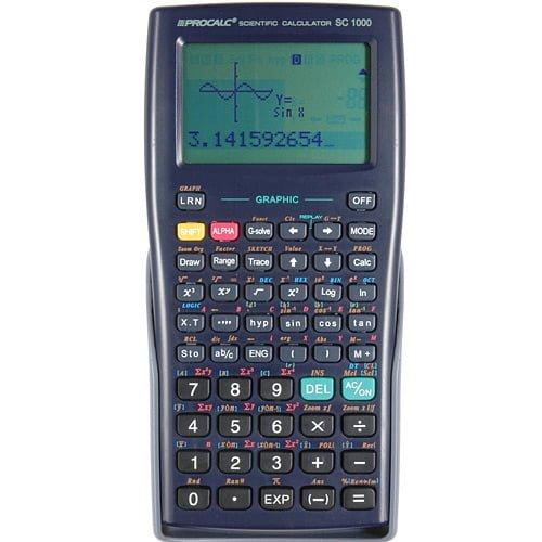 Calculadora Procalc SC1000 360 Funções Visor Gráfico LCD